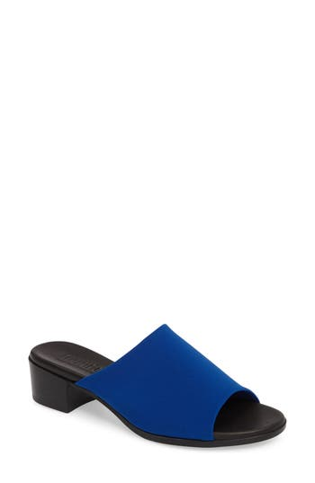 Munro Beth Slide Sandal- Blue