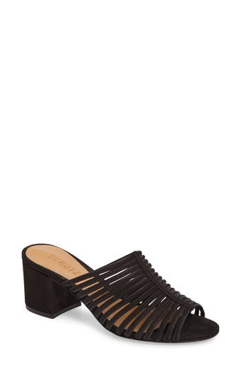 Schutz Cecillya Block Heel Sandal