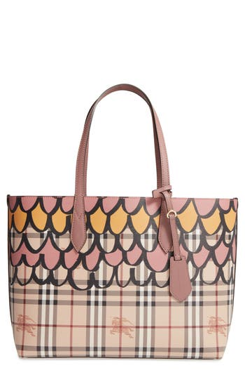 Burberry Medium Lavenby Reversible Tote -