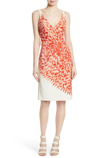 Milly Cady Sheath Dress, Red