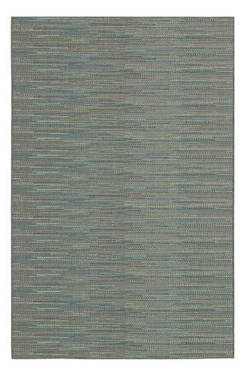 Couristan Monaco Larvotto Indoor/outdoor Rug, ft 0in x 3ft 7in - Blue