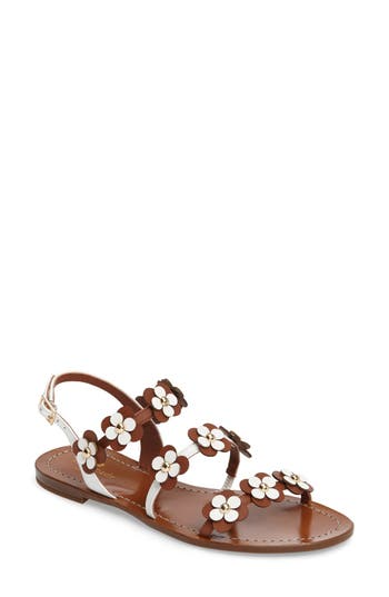Kate Spade New York Colorado Flowered Sandal, Brown