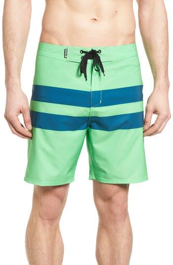 Big & Tall Hurley Phantom Blackball Board Shorts, Green