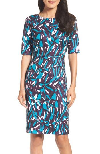 Women's Ellen Tracy Ponte Pencil Dress