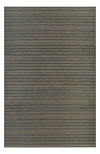 Couristan Harwich Indoor/outdoor Rug, ft 0in x 3ft 7in - Black