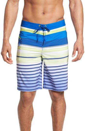 Vineyard Vines Neon Stripe Board Shorts