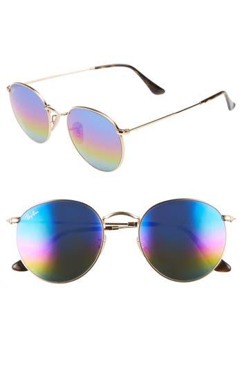 Ray-Ban 5m Round Sunglasses - Blue/ Multi
