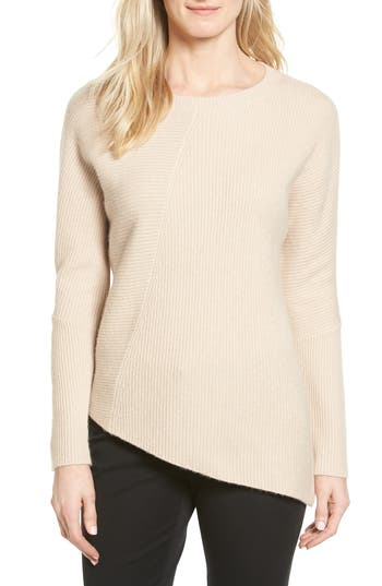 Halogen Wool & Cashmere Tunic Sweater
