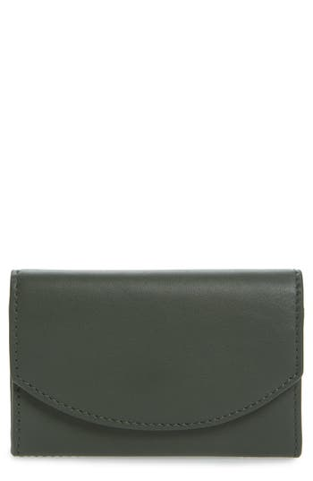 Women's Skagen Leather Card Case -