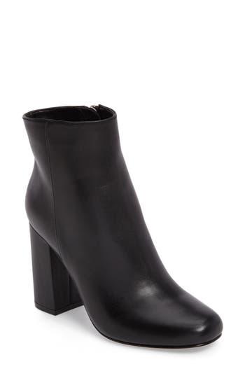 Charles David Studio Block Heel Bootie- Black