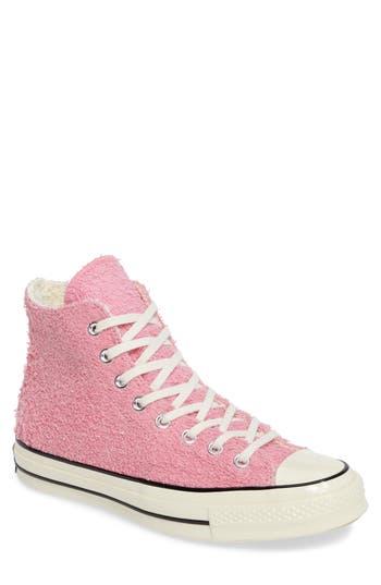 Converse Chuck Taylor All Star Terry Cloth Hi Sneaker, Pink
