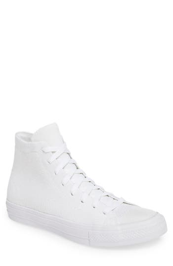 Converse Chuck Taylor All Star Flyknit Hi Sneaker, White
