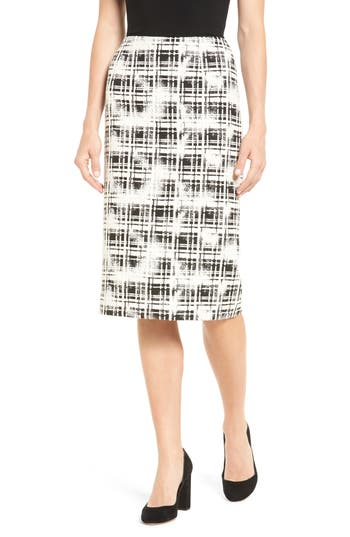 Women's Emerson Rose Plaid Pencil Skirt