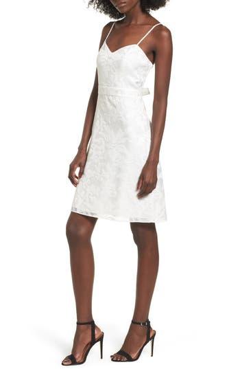 Devlin Linda Shift Dress, White