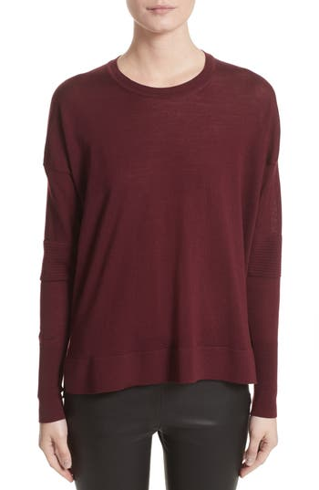 Belstaff Sarah Wool Sweater, Purple