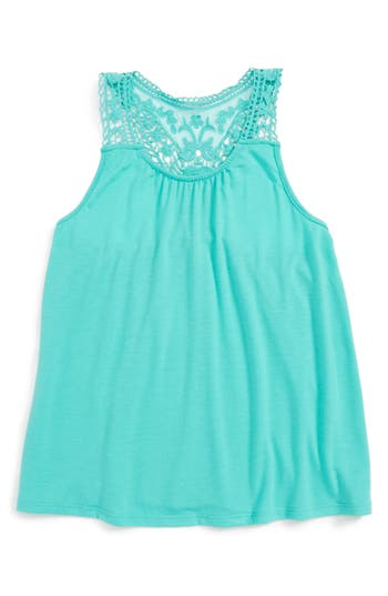 Girl's Tucker + Tate Crochet Tank