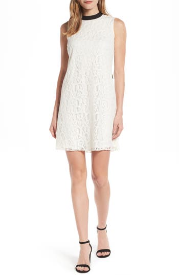 Cece Tie Back Lace Dress