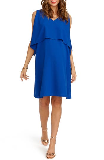Rosie Pope Janie Maternity Dress, Blue