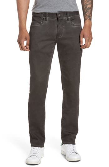 John Varvatos Star Usa Bowery Slim Straight Leg Jeans, Grey