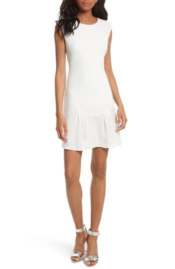 Rebecca Taylor Stacy Drop Waist Dress, White