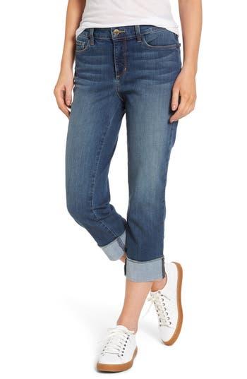 Women's Nydj Dayla Wide Cuff Stretch Capri Jeans