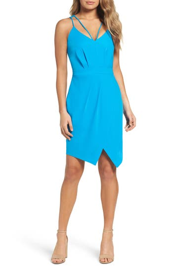 Adelyn Rae Noemi Sheath Dress, Blue