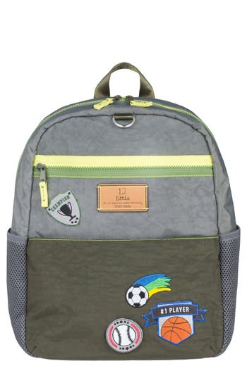Toddler Twelvelittle Courage Backpack  Grey