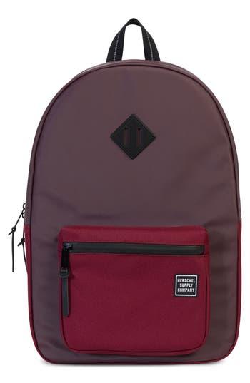 Herschel Supply Co. Ruskin Studio Collection Backpack - Red