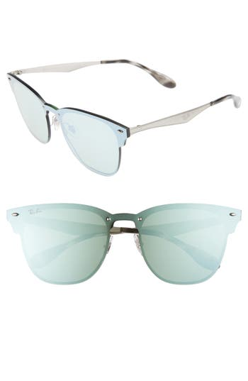 Ray-Ban Wayfarer 42Mm Sunglasses - Silver