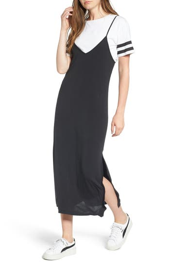 Bp. Sporty Layered Slipdress