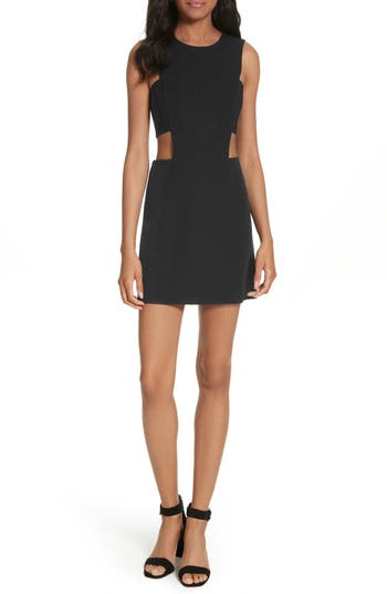 Milly Cutout Mindress, Black