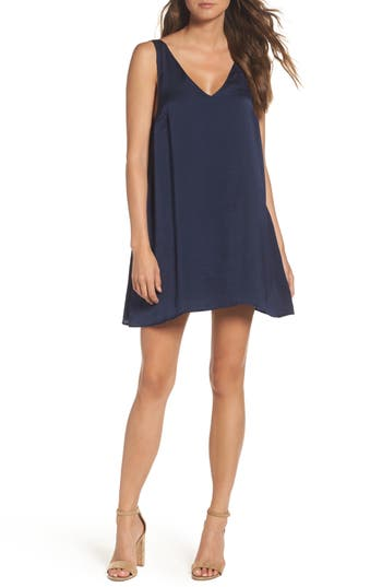 Knot Sisters Winona Sleeveless Dress, Blue