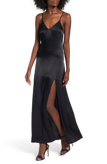 Leith Satin Maxi Dress