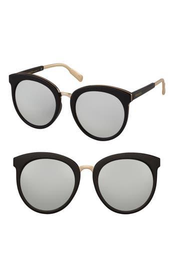 Perverse Luxe Sunglasses - Black/ Silver