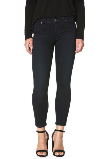 Paige Transcend - Verdugo Crop Skinny Jeans, 3 - Blue