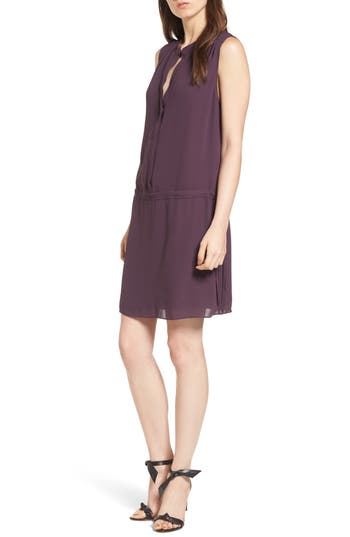 Cheslsea28 Drop Waist Dress, Purple