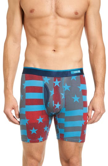 Men's Stance Flag Filter Stretch Cotton Boxer Briefs