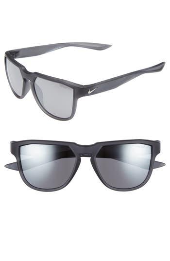 Nike Fly Swift 57Mm Sunglasses - Matte Anthracite/ Gunmetal