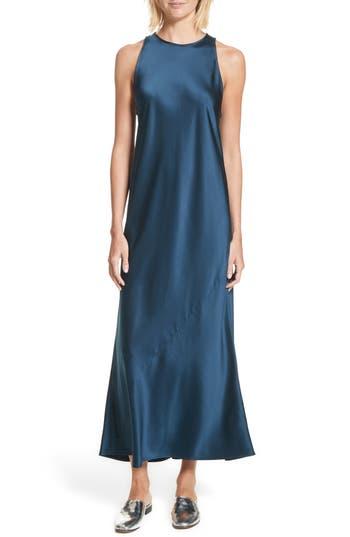 A.l.c. Mikel Stretch Silk Midi Dress, Blue