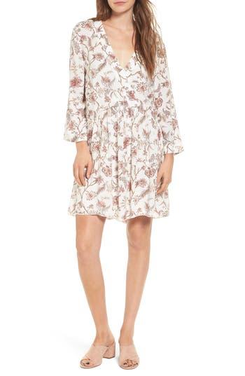 Hinge Babydoll Dress, Ivory