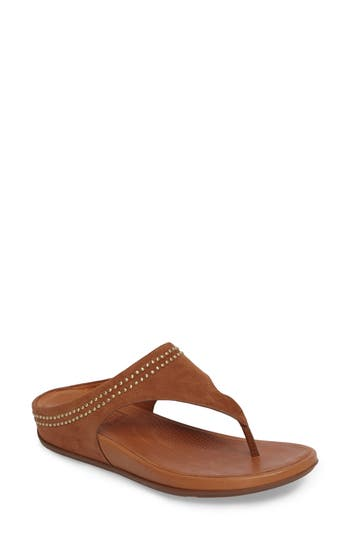 Fitflop Banda Studded Sandal, Brown