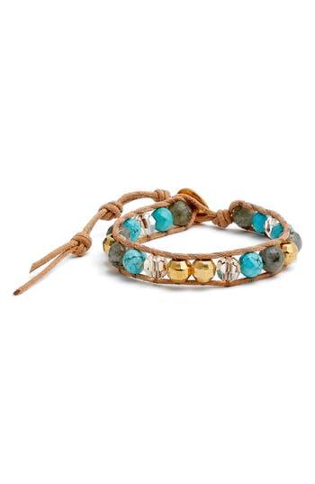 Women's Chan Luu Beaded Leather Bracelet