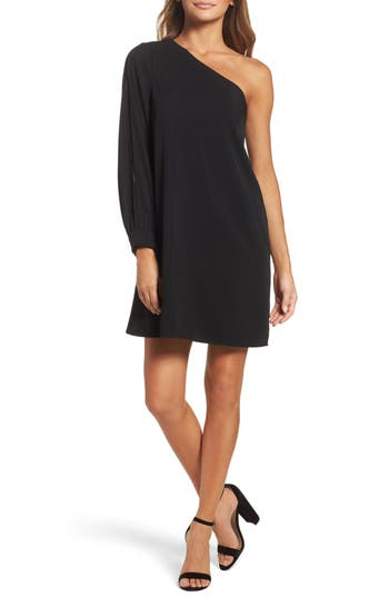 Chelsea28 One-Shoulder Shift Dress