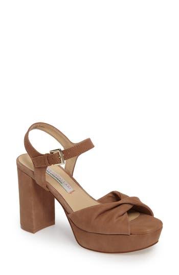 Kristin Cavallari Ryne Twist Toe Platform Sandal