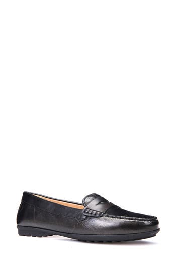 Geox Elidia 5 Penny Loafer, Grey