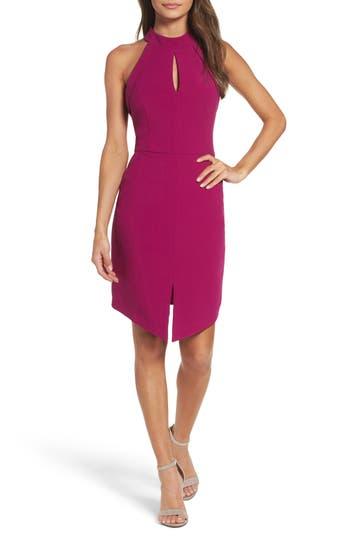 Adelyn Rae Marlena Sheath Dress, Pink