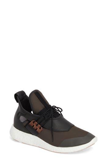 Y-3 Elle Run Sneaker, Green