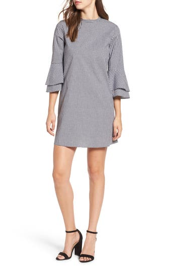 Women's Everly Flare Sleeve Gingham Dress