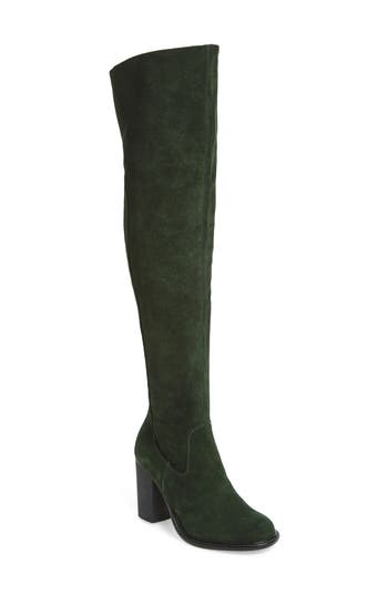 Kelsi Dagger Brooklyn Logan Over The Knee Boot, Green
