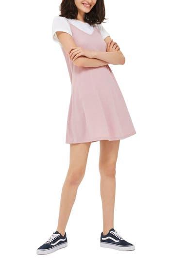 Topshop Strappy Back Trapeze Dress